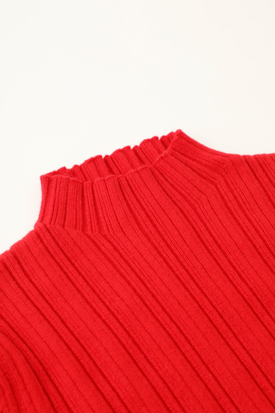 BOTTLENECK KNIT TOP - X-Girl