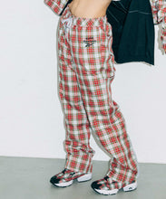 Load image into Gallery viewer, X-girl × Reebok PLAID PANTS