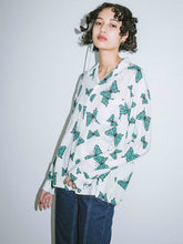 Load image into Gallery viewer, BUTTERFLY L/S SHIRT, SHIRT, X-Girl