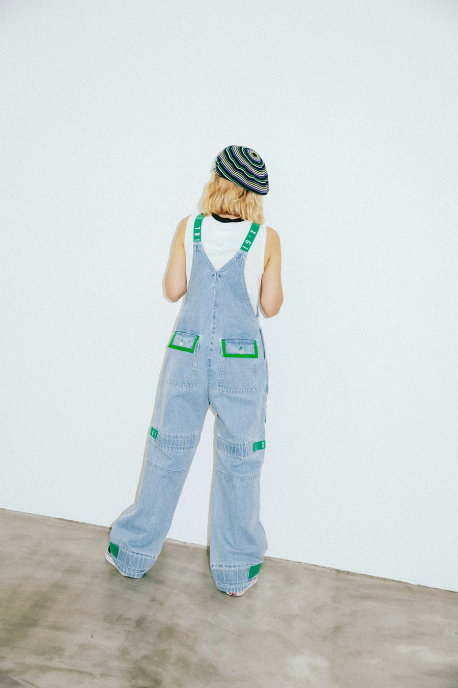 ADJUSTABLE STRAP CARGO OVERALL, SHORTS & PANTS, X-Girl