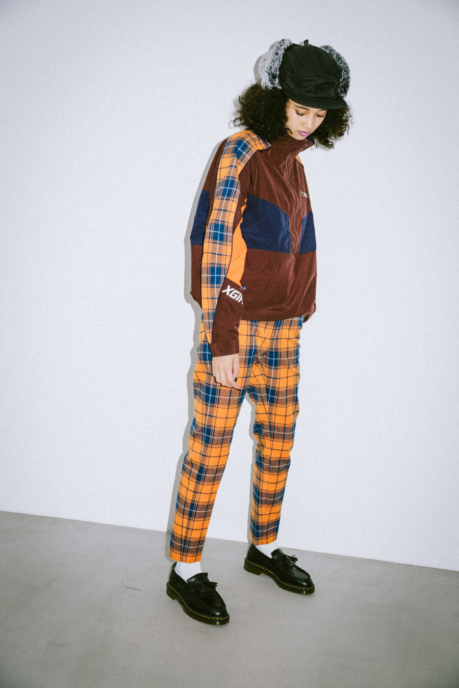PLAID SLIM PANTS - X-Girl