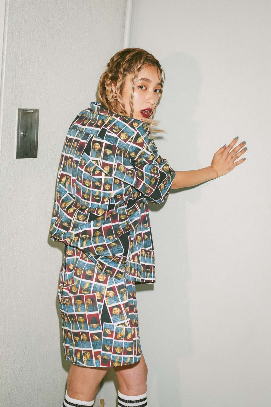 Chloe Sevigny ALL OVER PRINTED SHIRTS