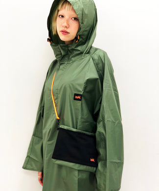 X-girl x HUS OUTDOOR PONCHO, ACCESSORIES, X-Girl