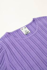 CREWNECK KNIT TOP, HOODIES & SWEATERS, X-Girl