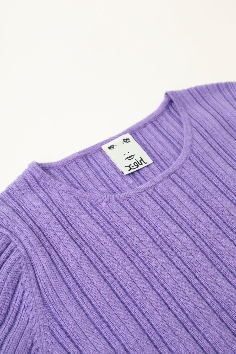 CREWNECK KNIT TOP - X-Girl