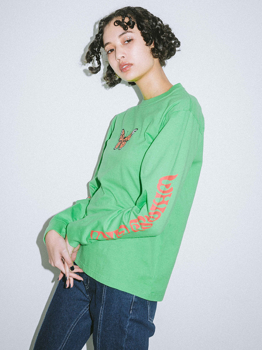 BUTTERFLY L/S REGULAR TEE