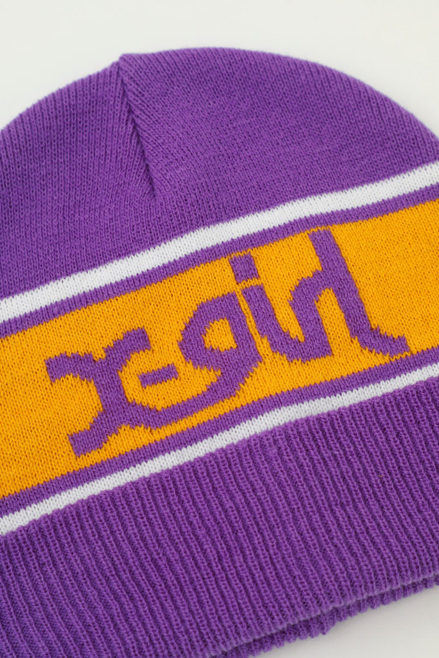 LINE LOGO KNIT CAP, ACCESSORIES, X-Girl