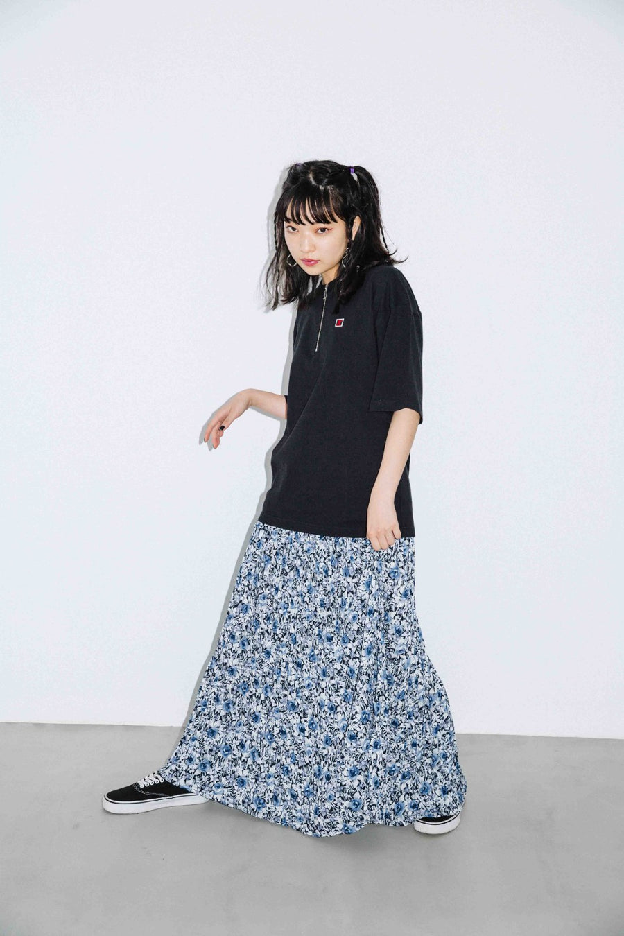 GRANDMA FLORAL SKIRT - X-Girl