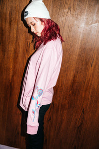 ROSE L/S REGULAR TEE - X-girl