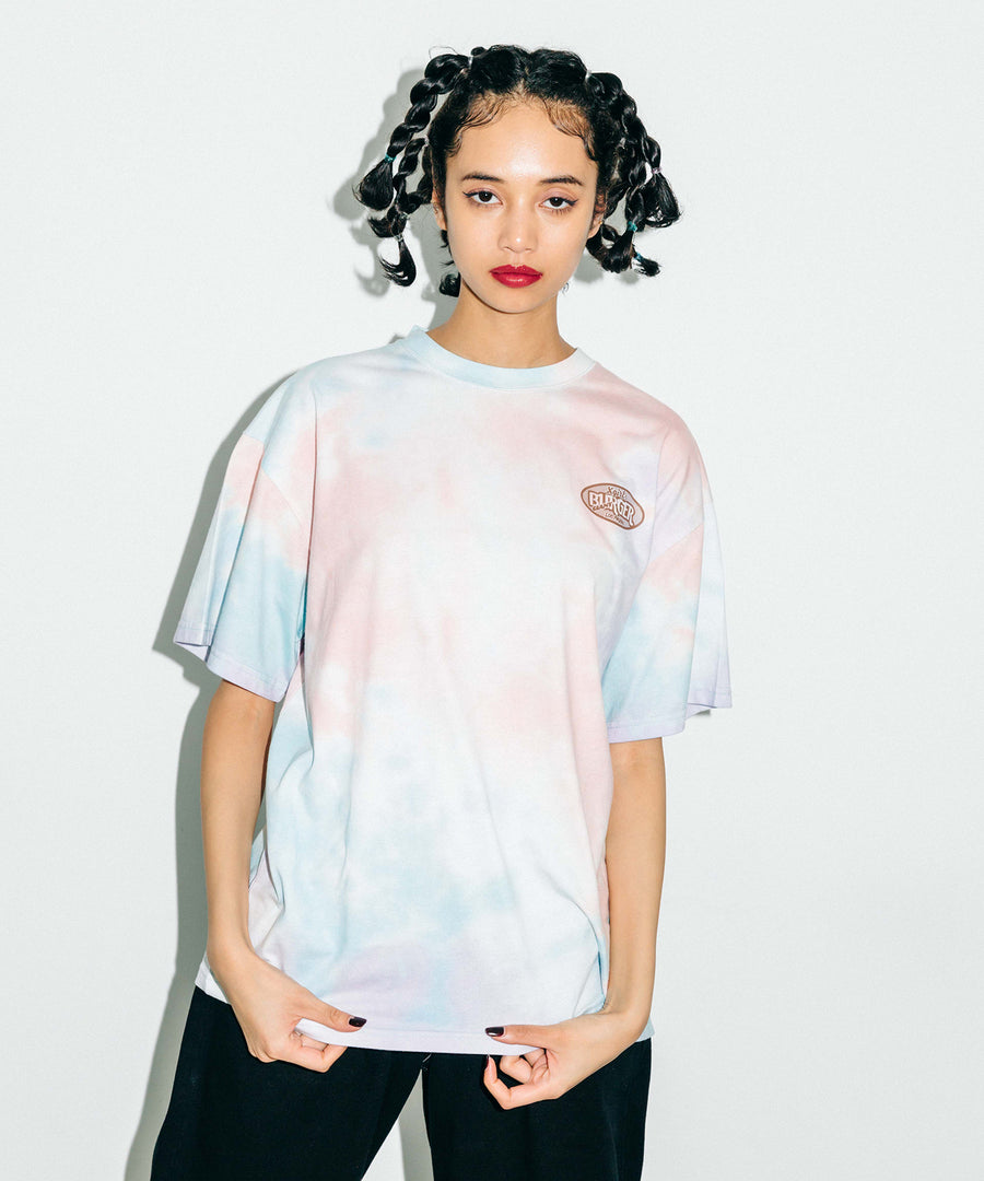 BURGER SHOP TIE-DYE S/S MENS TEE, T-SHIRTS, X-Girl