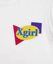 Load image into Gallery viewer, PLANE SHAPES LOGO S/S TEE, T-SHIRT, X-Girl