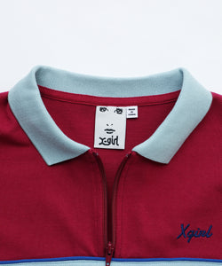 BOWLING POLO SHIRT, C&S, X-Girl