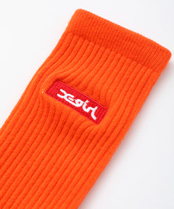 BOX LOGO EMBROIDERED SOCKS, ACCESSORIES, X-Girl