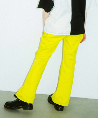 UP FLARE PANTS, PANTS, X-Girl