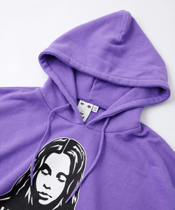 X-girl × HYSTERIC GLAMOUR FACE SWEAT HOODIE, HOODIES & SWEATERS, X-Girl