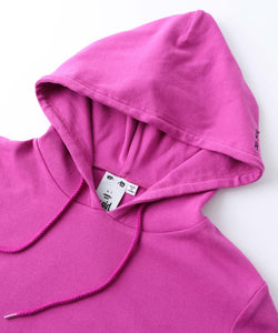 STRETCH HOODED TOP, TOPS, X-Girl