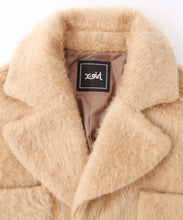 Load image into Gallery viewer, SHAGGY COCOON COAT, OUTERWEAR, X-Girl