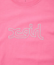 Load image into Gallery viewer, GLITTER MILLS LOGO S/S REGULAR TEE, T-SHIRT, X-Girl
