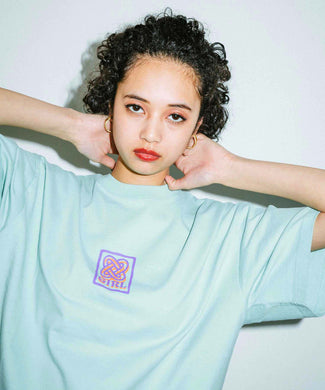ROPE LOGO S/S MENS TEE, T-SHIRT, X-Girl