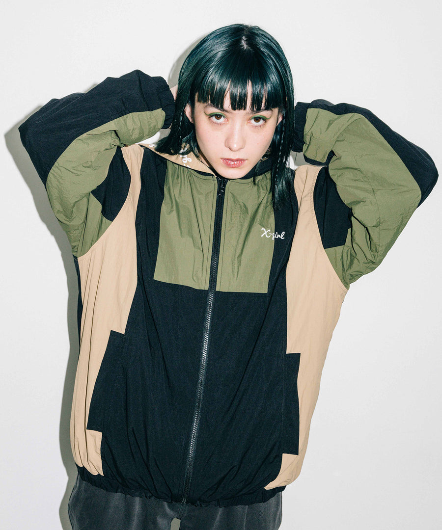 REVERSIBLE JACKET, OUTERWEAR, X-Girl