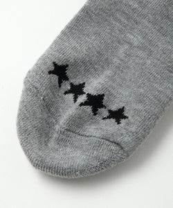 LOGO 2P MIDDLE SOCKS, ACCESSORIES, X-girl
