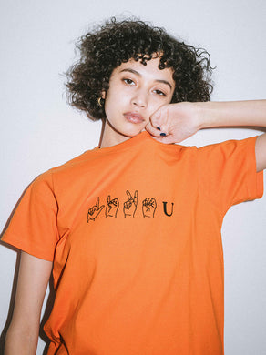 LIKE YOU S/S REGULAR TEE, T-SHIRT, X-Girl