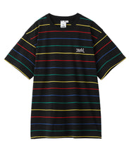 Load image into Gallery viewer, MULTI STRIPED H/S TEE, C&S, X-Girl