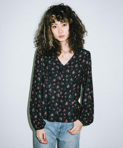 FLORAL BLOUSE, SHIRT, X-Girl