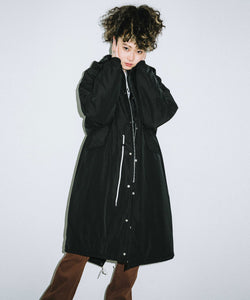 HOODED PUFFER COAT, OUTERWEAR, X-Girl