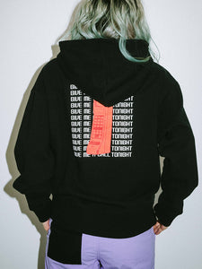 RETRO PHONE SWEAT HOODIE, HOODIES & SWEATERS, X-girl