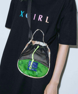 X-girl x PMW MINI SHOULDER BAG GO, ACCESSORIES, X-Girl