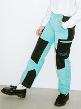 Load image into Gallery viewer, COLOR BLOCK CARGO PANTS, PANTS, X-girl