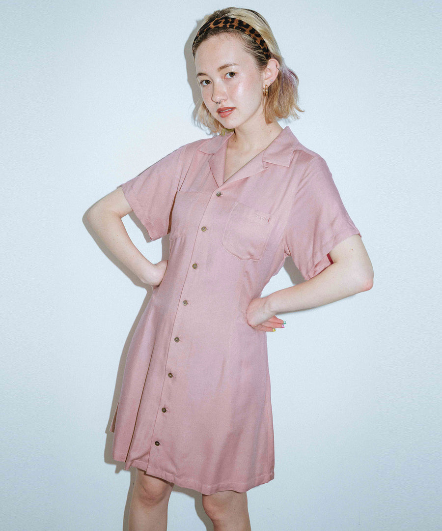 RAYON MINI DRESS, DRESSES, X-Girl