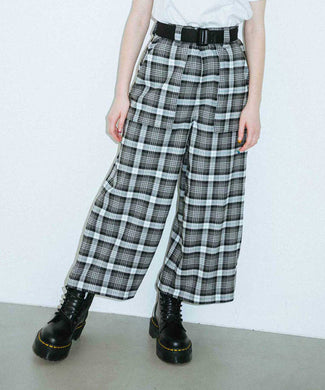 PLAID PANTS, PANTS, X-Girl
