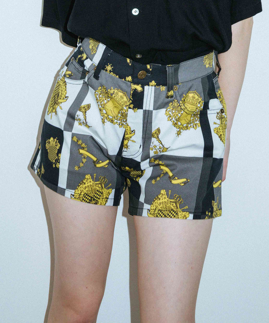 X-EMPIRE SHORT PANTS, SHORTS, X-Girl