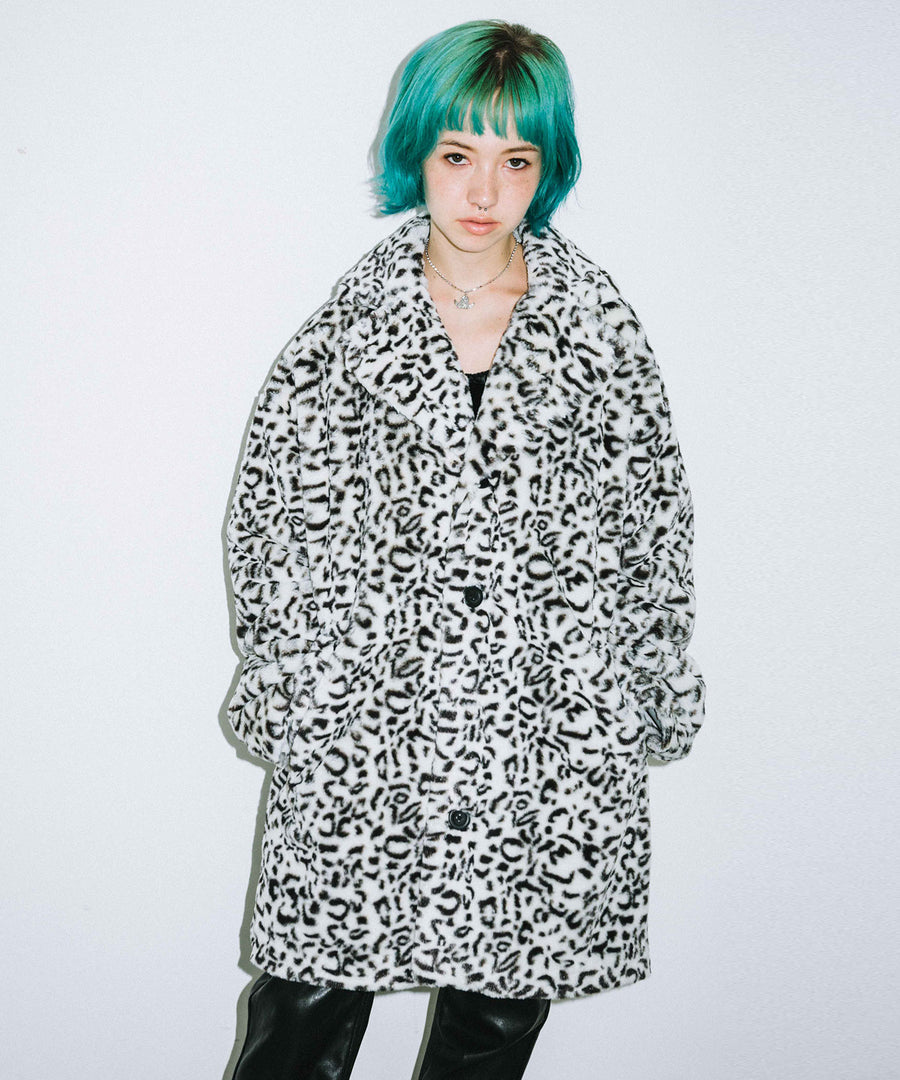 #1 LEOPARD FUR COAT