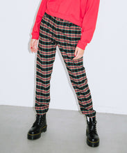 Load image into Gallery viewer, PLAID TAPERED PANTS, PANTS, X-Girl