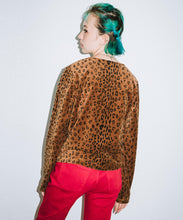 Load image into Gallery viewer, LEOPARD CARDIGAN, TOPS, X-Girl