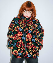 Load image into Gallery viewer, FLORAL STAND COLLAR BOA JACKET, OUTERWEAR, X-Girl