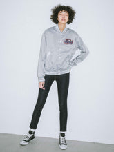 Load image into Gallery viewer, SATIN VARSITY JACKET, OUTERWEAR, X-Girl
