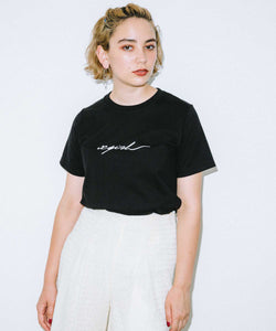 SIGNATURE S/S REGULAR TEE, T-SHIRTS, X-Girl