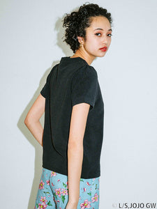 PUFF SLEEVE S/S TOP, T-SHIRT, X-Girl