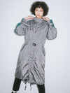 FISHTAIL COAT, JACKETS, X-Girl