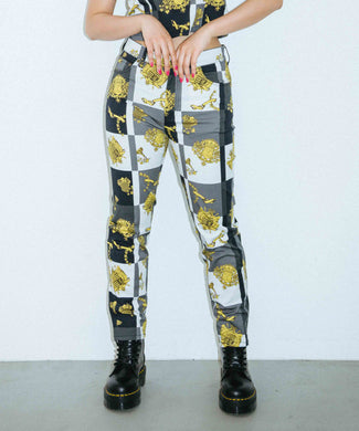 X-EMPIRE STRAIGHT PANTS, PANTS, X-Girl