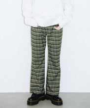 Load image into Gallery viewer, CLASSIC COLOR PLAID FLARE PANTS, PANTS, X-Girl