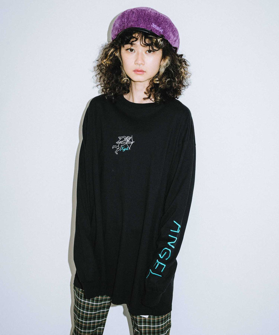 ANGEL L/S BIG TEE DRESS, DRESS, X-Girl
