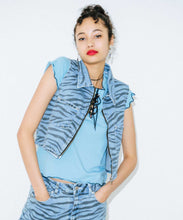 Load image into Gallery viewer, ZEBRA DENIM TOPS, OUTERWEAR, X-Girl
