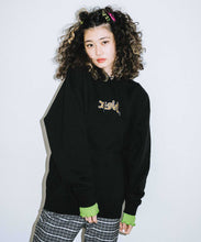 Load image into Gallery viewer, LEOPARD LOGO SWEAT HOODIE, HOODIES & SWEATERS, X-Girl