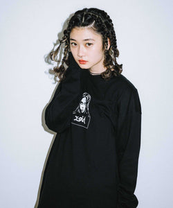 FACE L/S TEE, T-SHIRTS, X-girl