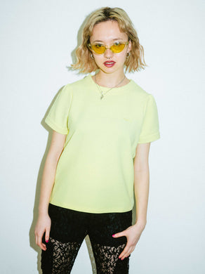 PUFF SLEEVE S/S TOP, T-SHIRTS, X-Girl